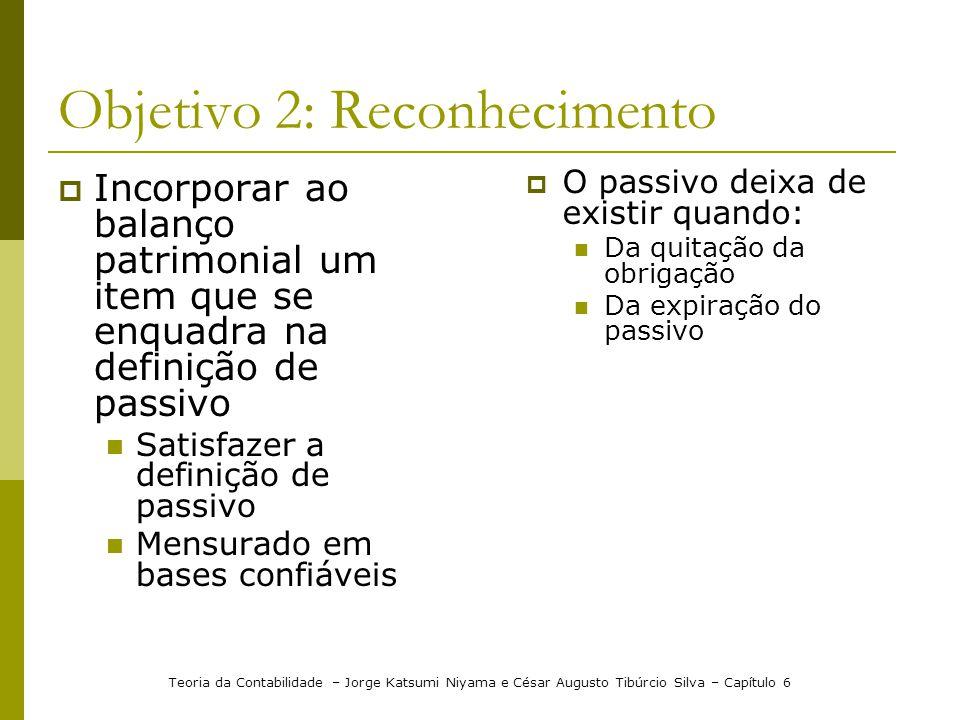Objetivo 2: Reconhecimento