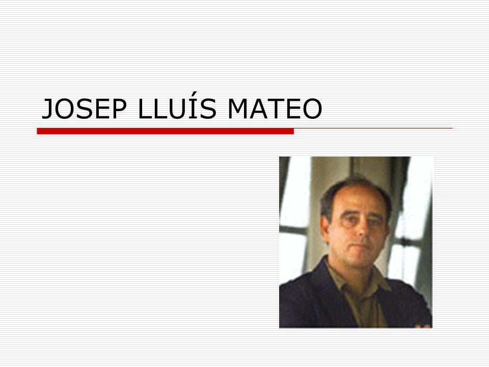 JOSEP LLUÍS MATEO
