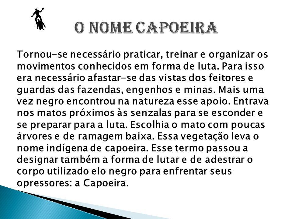 O NOME CAPOEIRA