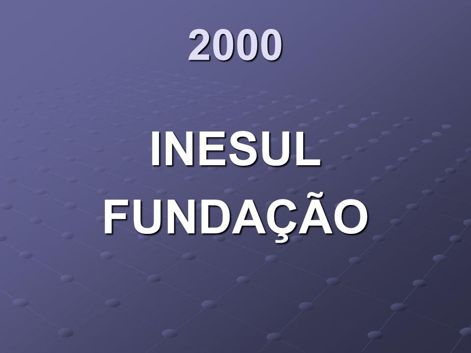 2000 INESUL FUNDAÇÃO