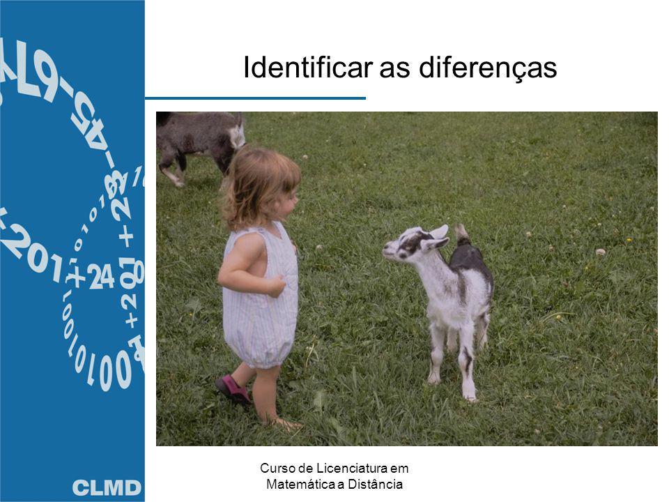 Identificar as diferenças