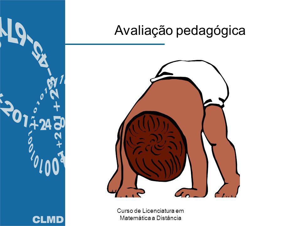 Curso de Licenciatura em Matemática a Distância