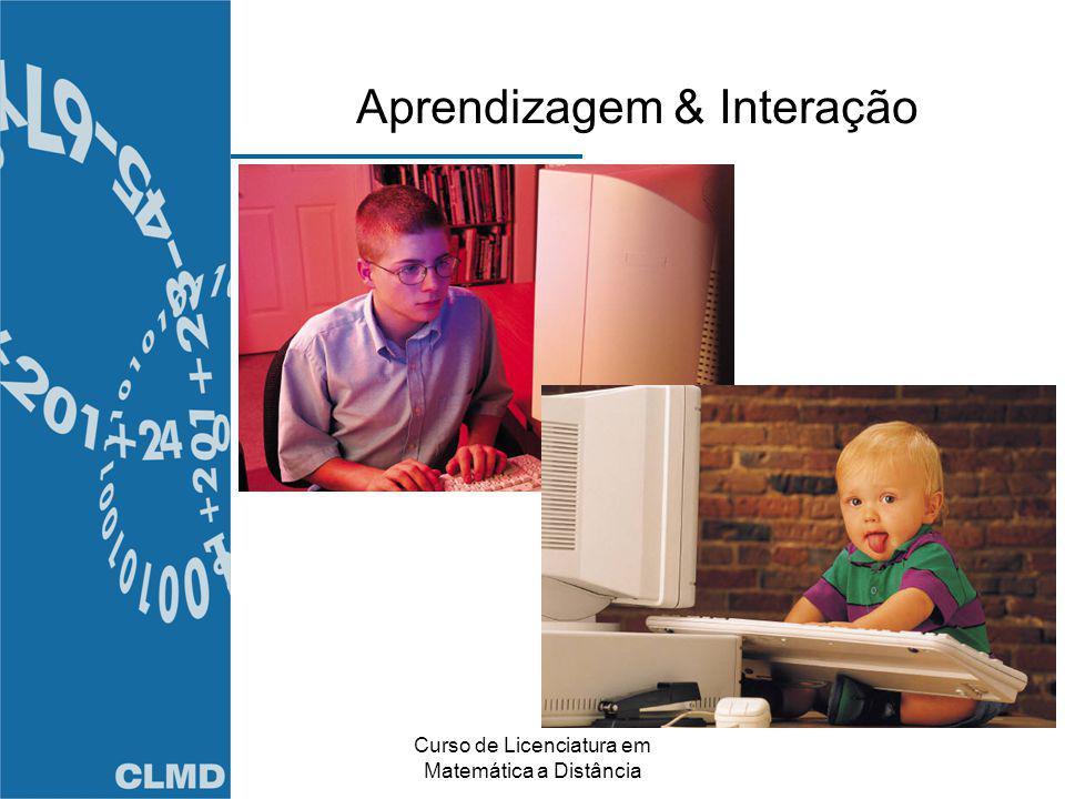 Aprendizagem & Interação