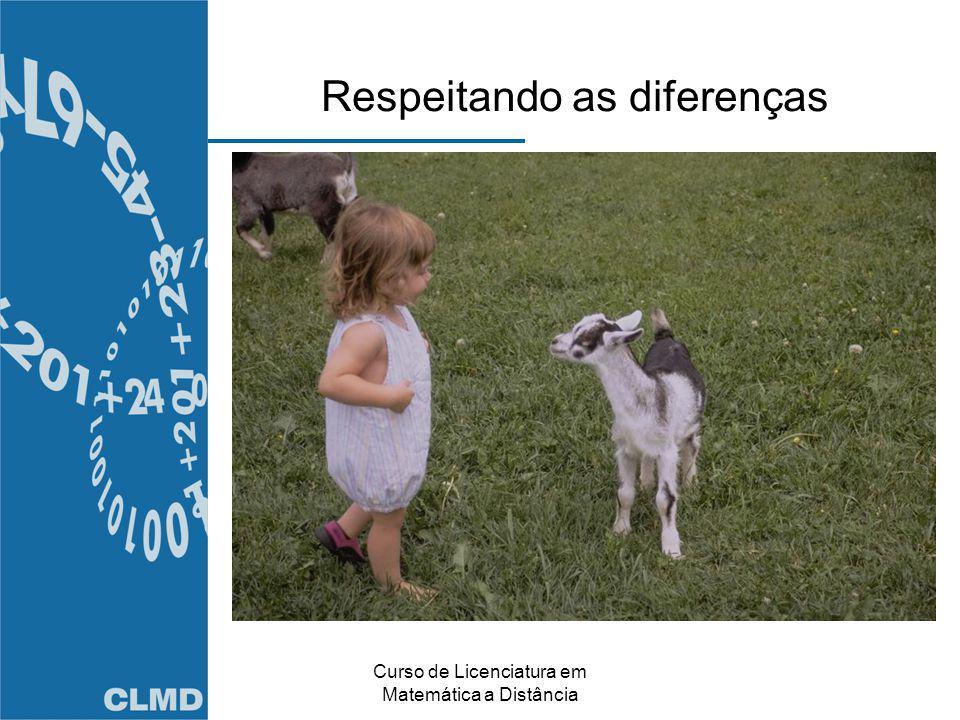 Respeitando as diferenças