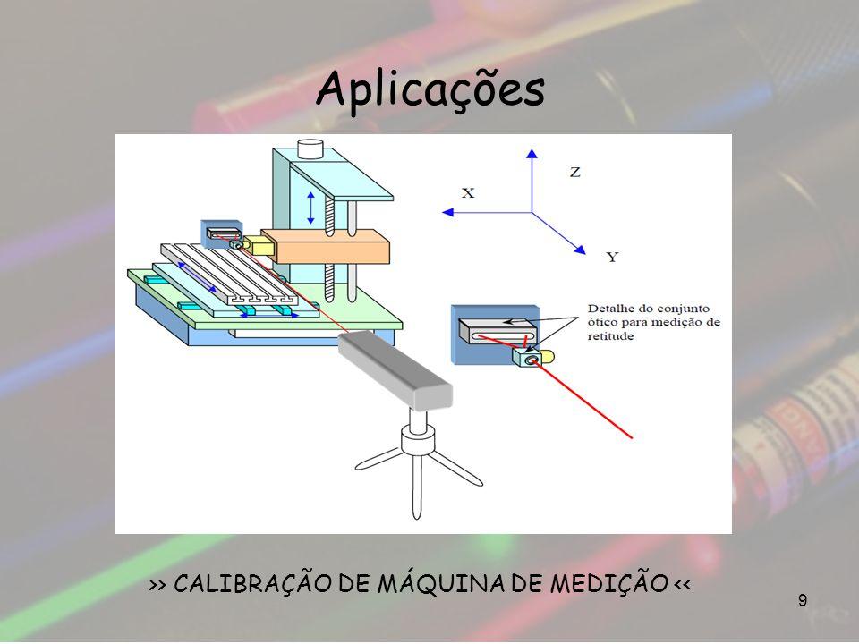 >> CALIBRAÇÃO DE MÁQUINA DE MEDIÇÃO <<