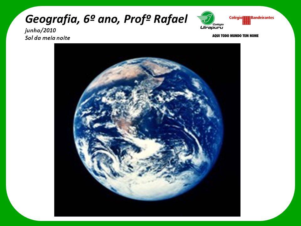 Geografia, 6º ano, Profº Rafael