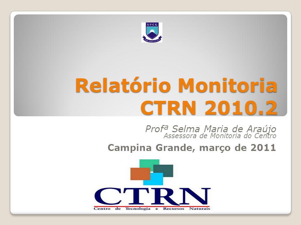 Relatório Monitoria CTRN 2010.2