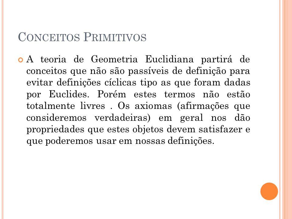 Conceitos Primitivos
