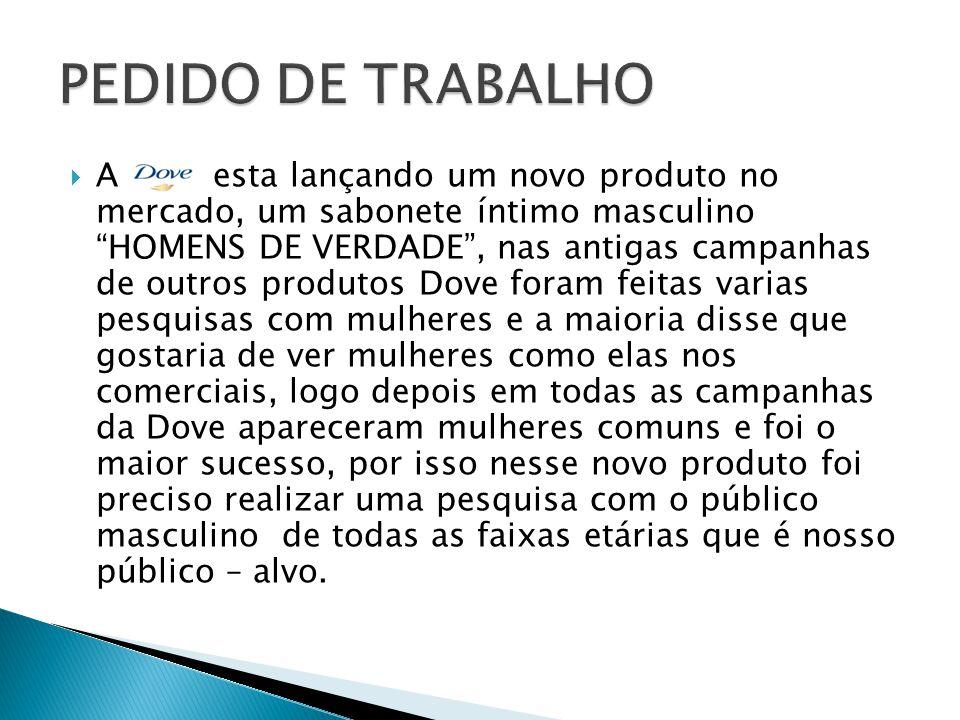 PEDIDO DE TRABALHO
