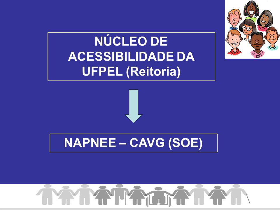 NÚCLEO DE ACESSIBILIDADE DA UFPEL (Reitoria)