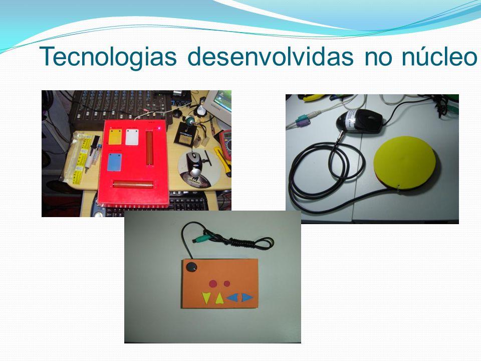 Tecnologias desenvolvidas no núcleo