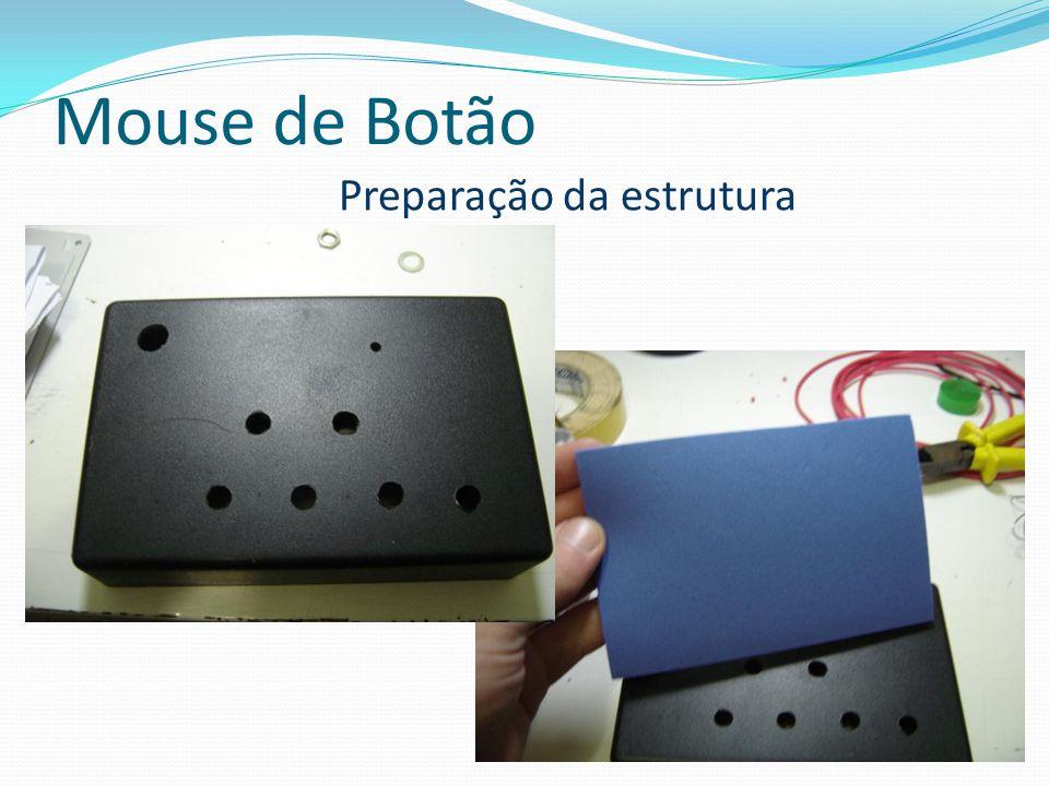 Mouse de Botão Preparação da estrutura