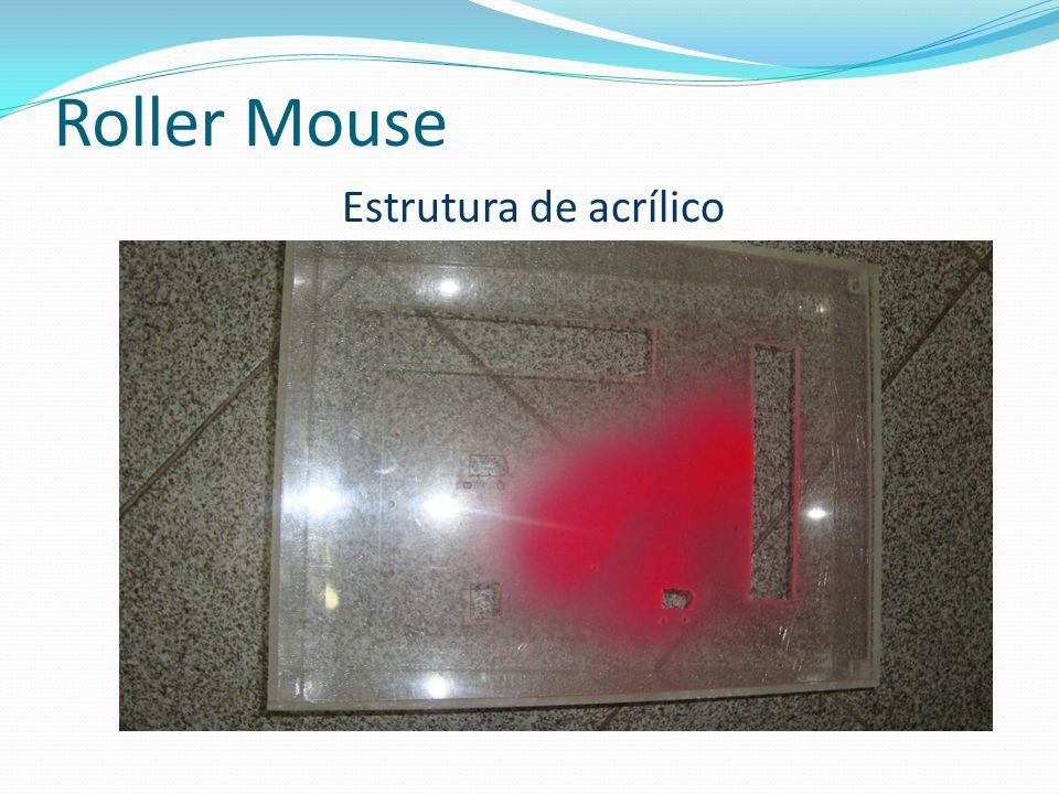 Roller Mouse Estrutura de acrílico