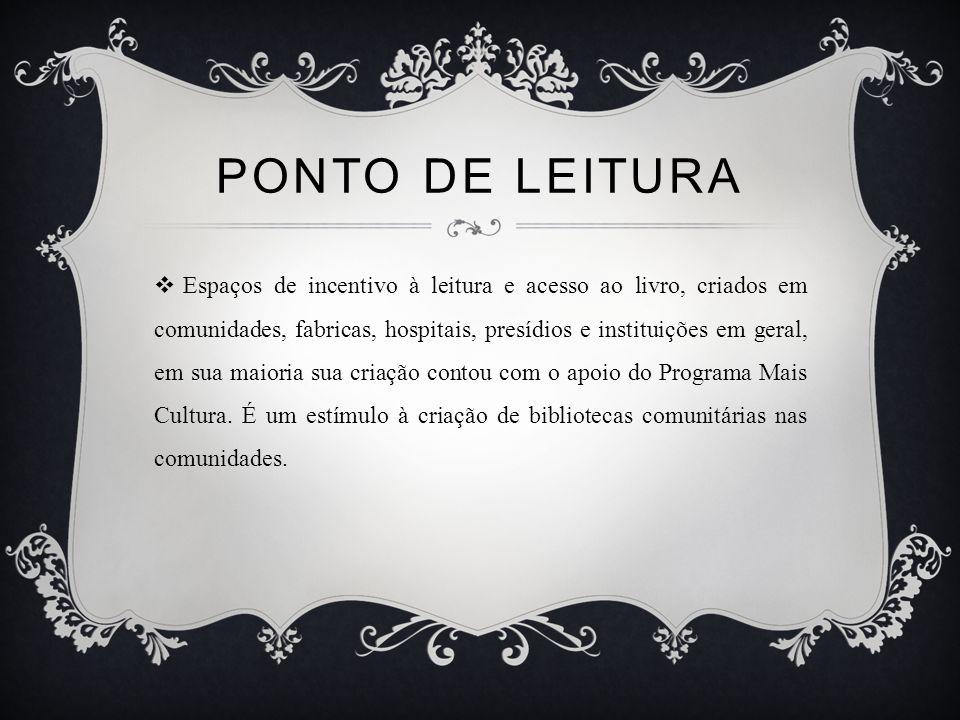 PONTO DE LEITURA