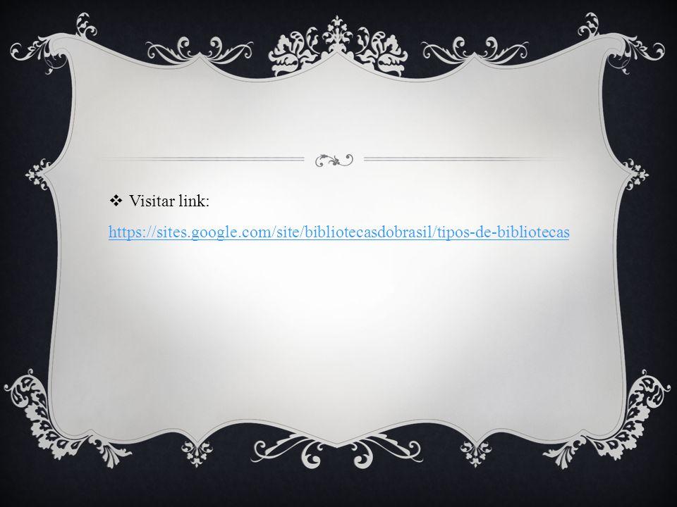 Visitar link: https://sites. google
