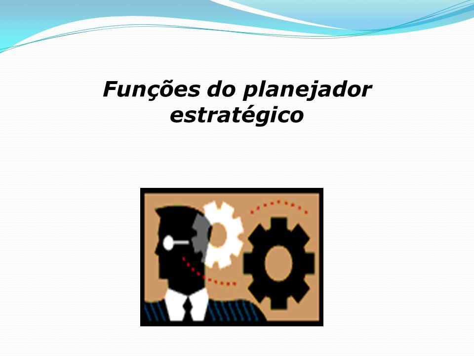 Funções do planejador estratégico