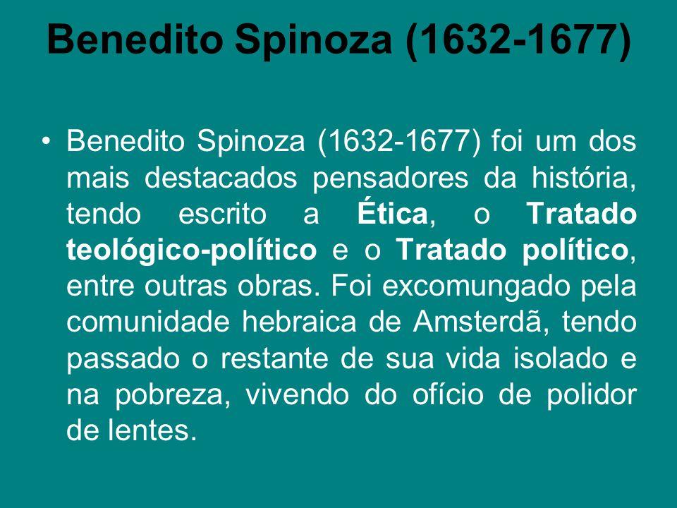 Benedito Spinoza (1632-1677)