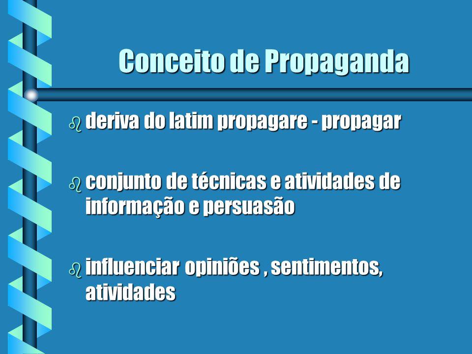 Conceito de Propaganda