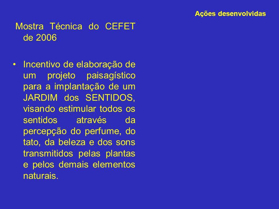 Mostra Técnica do CEFET de 2006