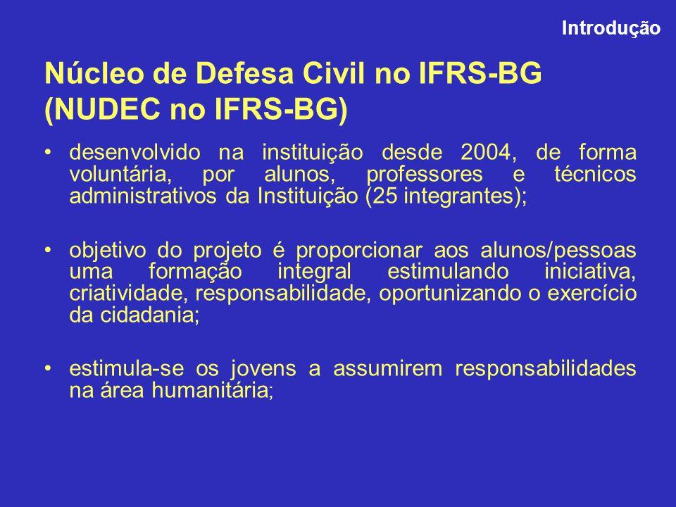 Núcleo de Defesa Civil no IFRS-BG (NUDEC no IFRS-BG)