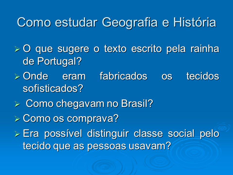 Como estudar Geografia e História