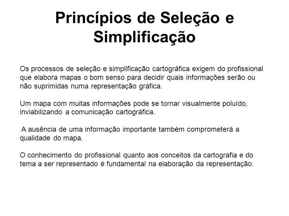 Princípios de Seleção e Simplificação