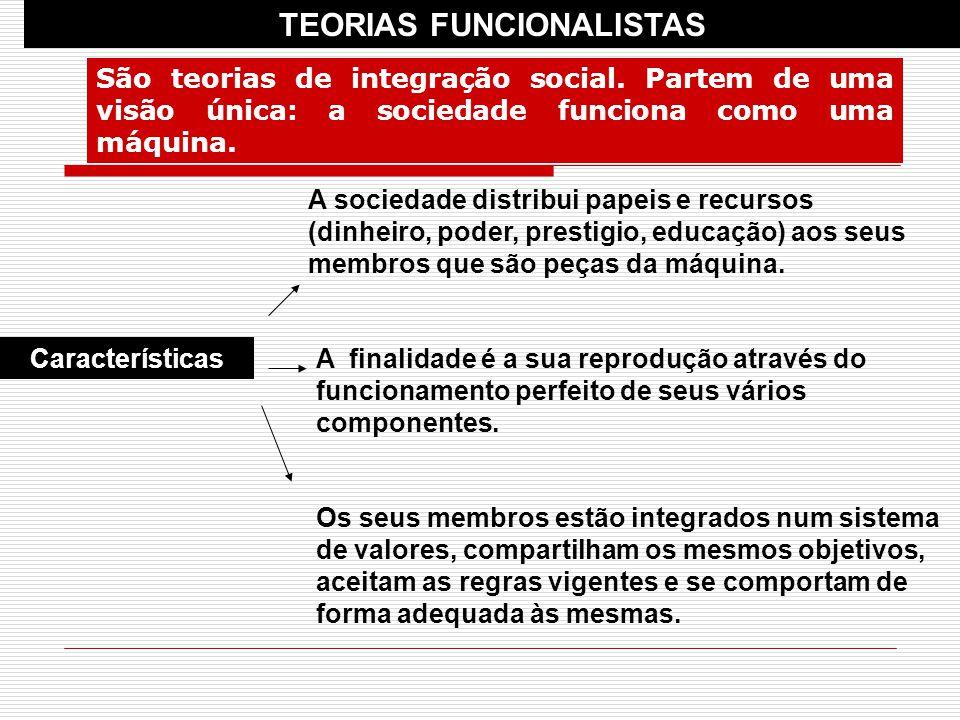 TEORIAS FUNCIONALISTAS