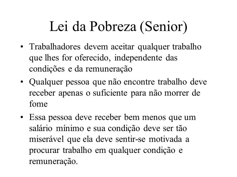Lei da Pobreza (Senior)