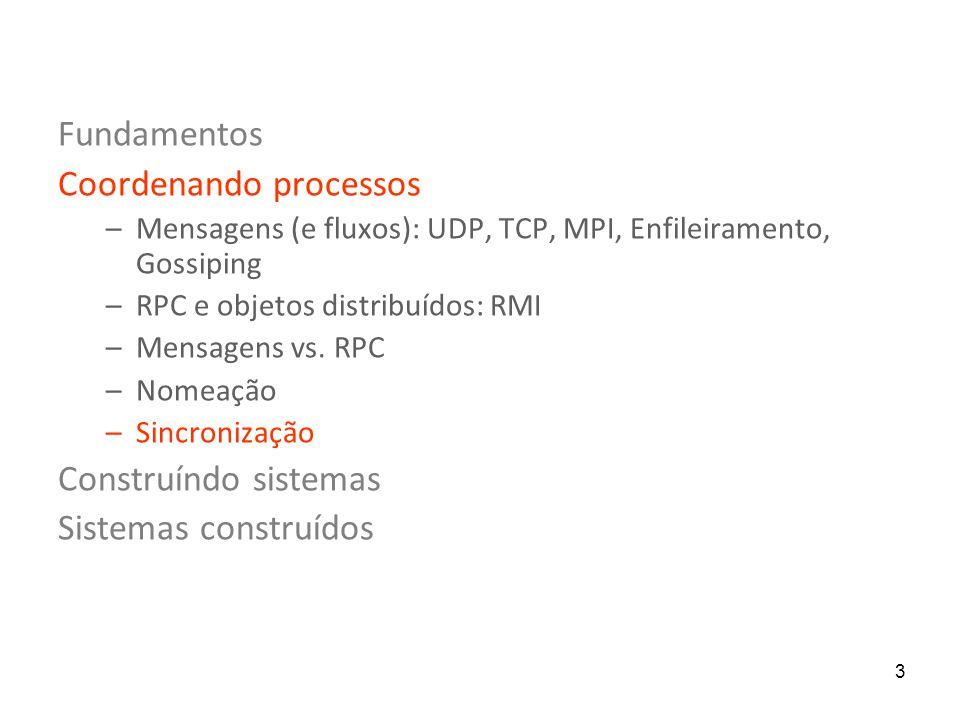 Coordenando processos