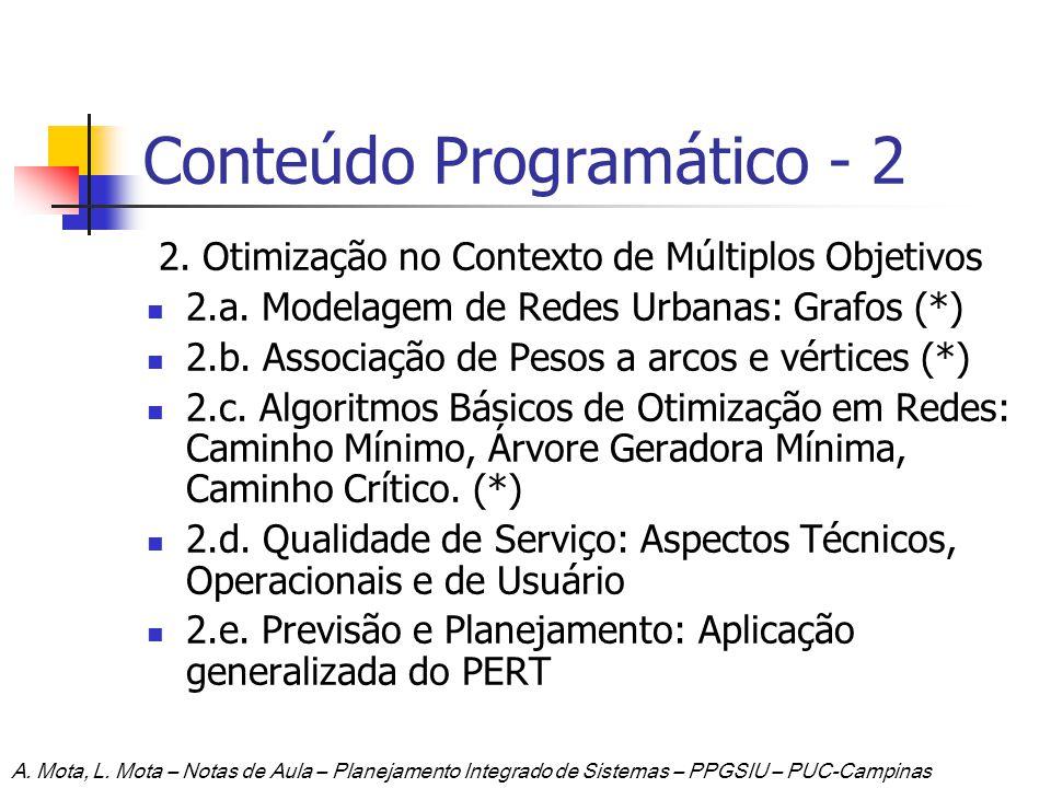 Conteúdo Programático - 2