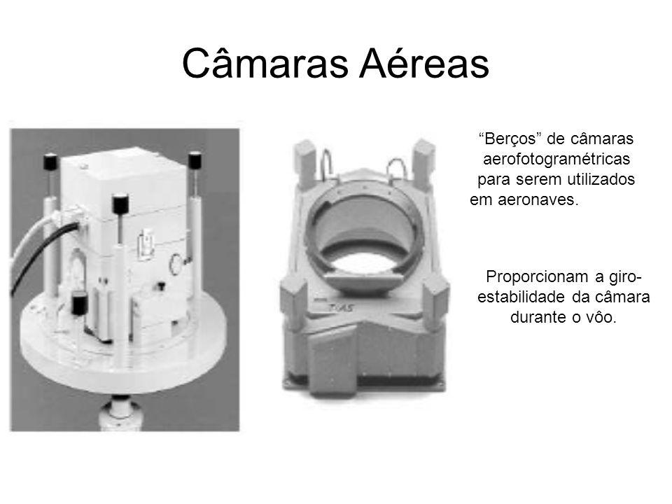 Câmaras Aéreas Berços de câmaras aerofotogramétricas para serem utilizados. em aeronaves.
