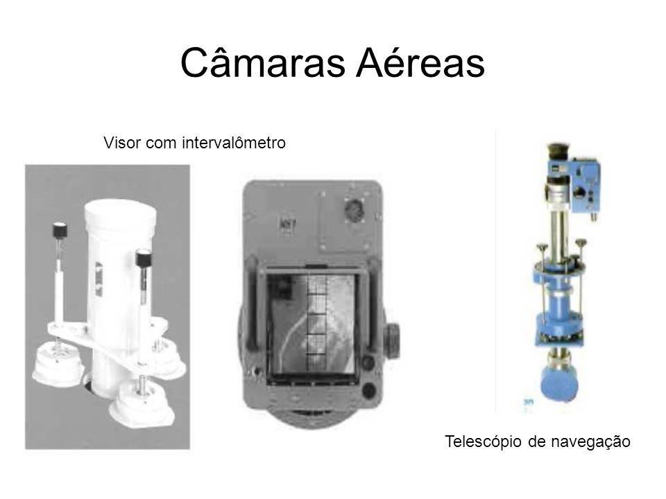 Câmaras Aéreas Visor com intervalômetro Telescópio de navegação