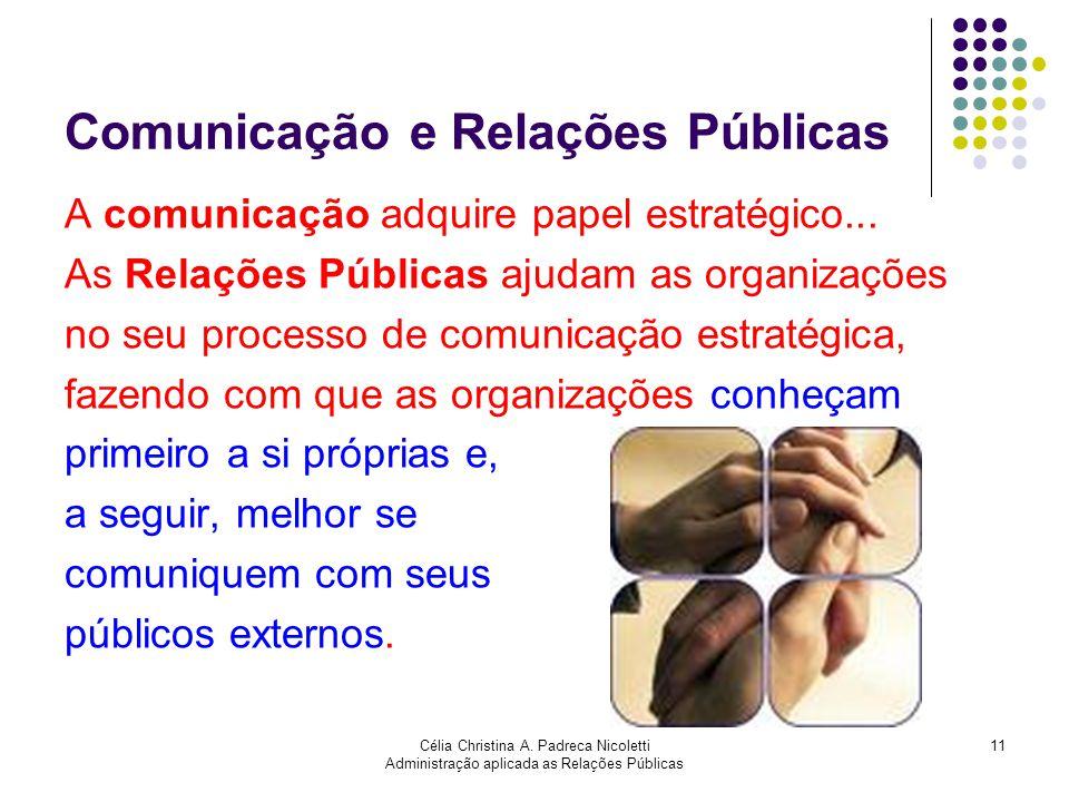 Comunicação e Relações Públicas