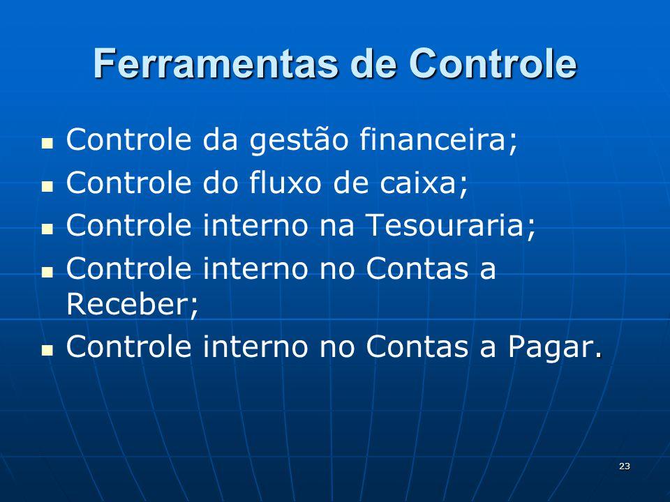 Ferramentas de Controle