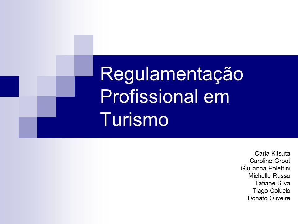 Regulamentação Profissional em Turismo