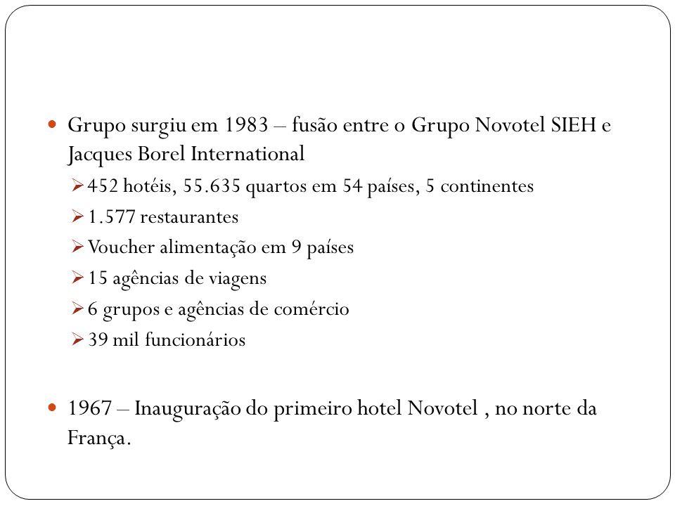 1967 – Inauguração do primeiro hotel Novotel , no norte da França.