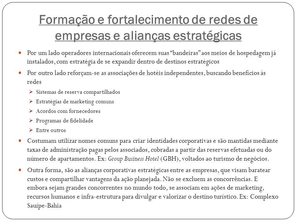 Formação e fortalecimento de redes de empresas e alianças estratégicas
