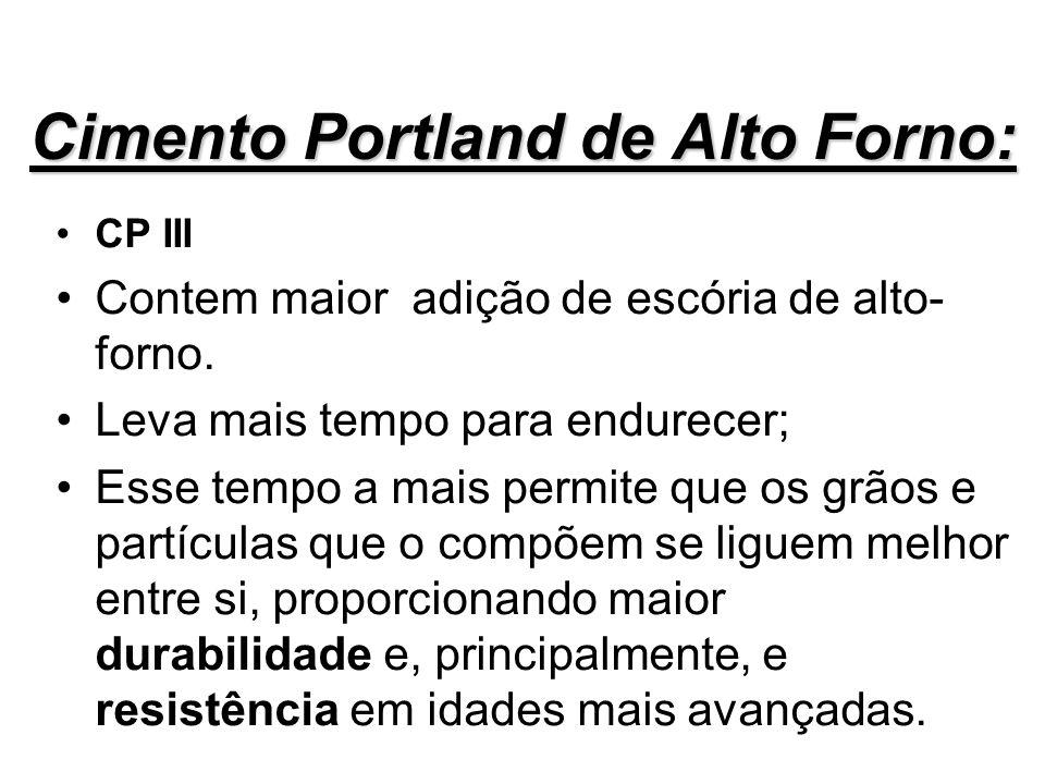 Cimento Portland de Alto Forno: