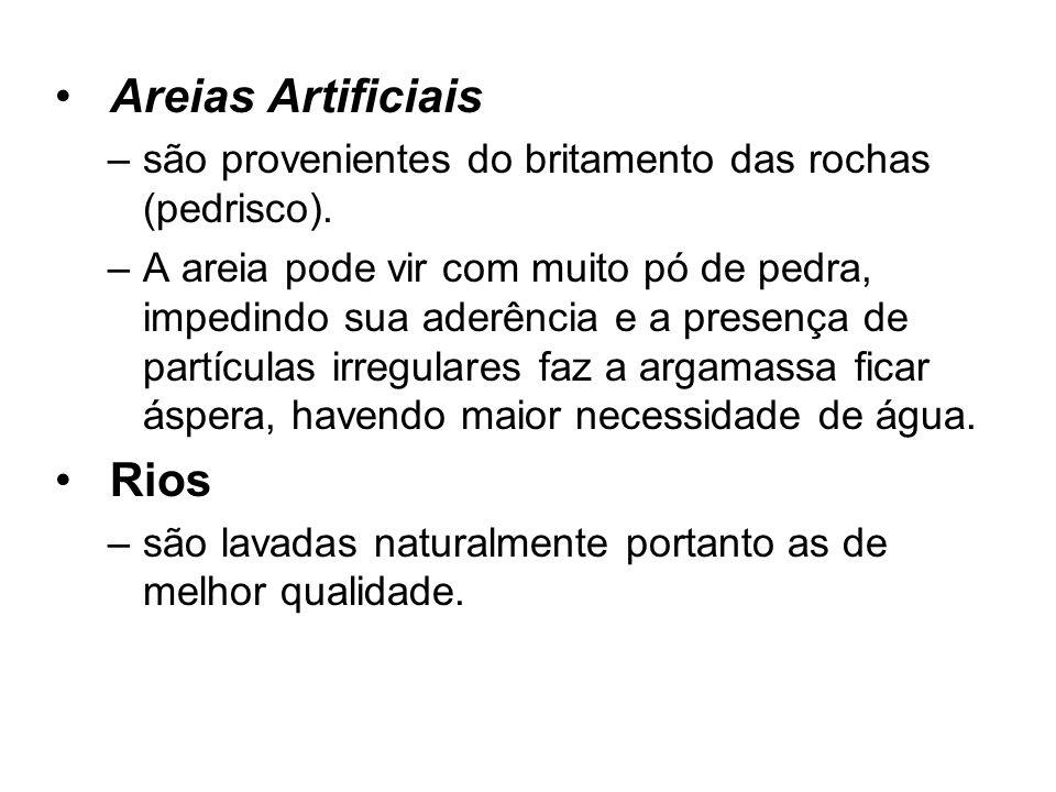 Areias Artificiais Rios
