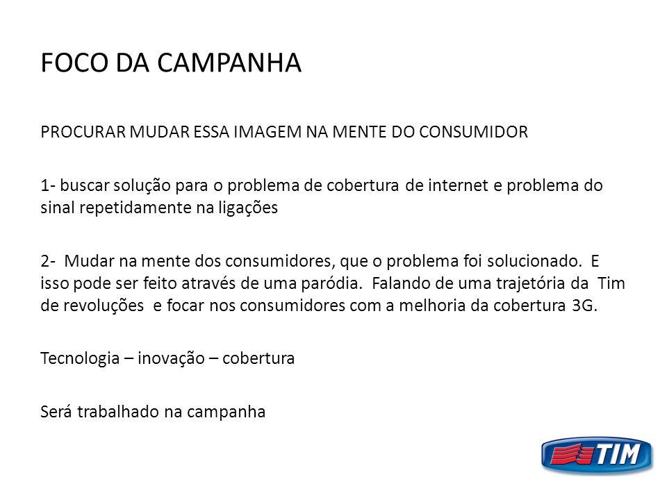FOCO DA CAMPANHA
