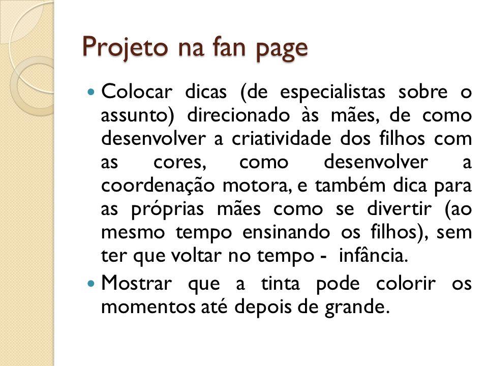 Projeto na fan page
