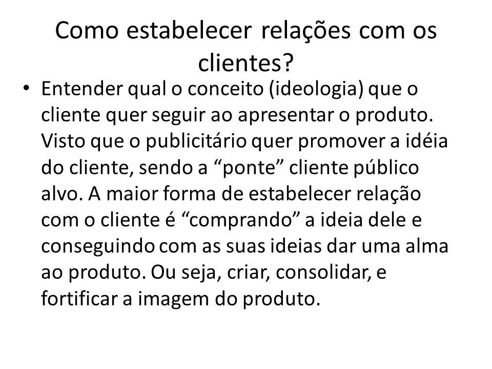 Como estabelecer relações com os clientes