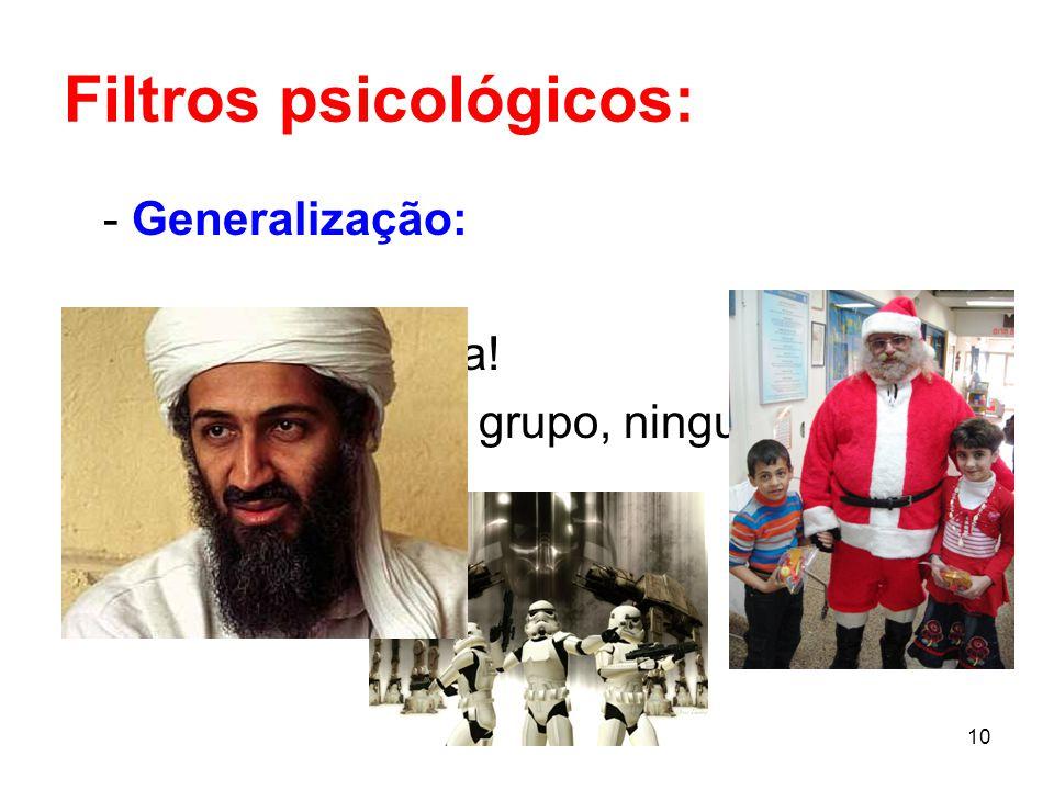 Filtros psicológicos: