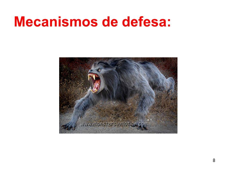 Mecanismos de defesa: