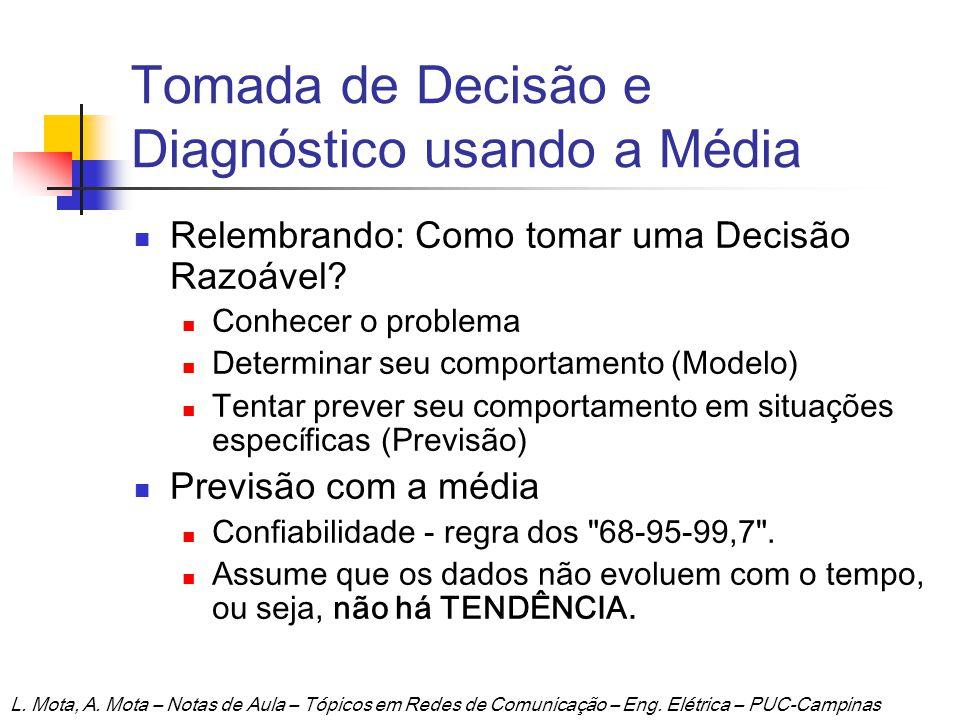 Tomada de Decisão e Diagnóstico usando a Média