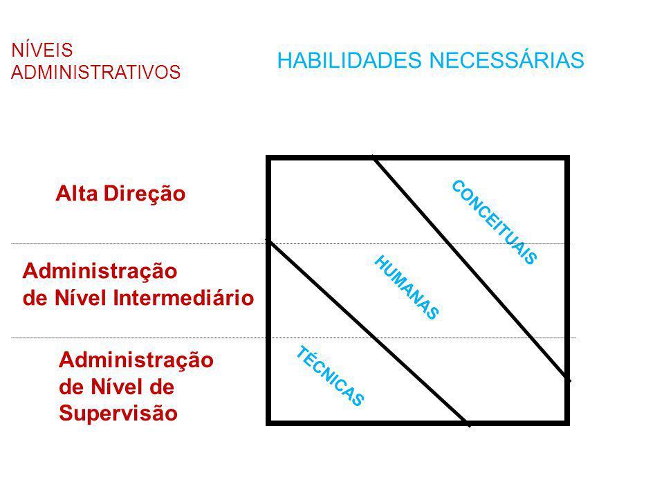 HABILIDADES NECESSÁRIAS