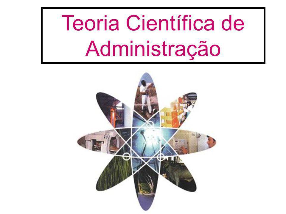 Teoria Científica de Administração