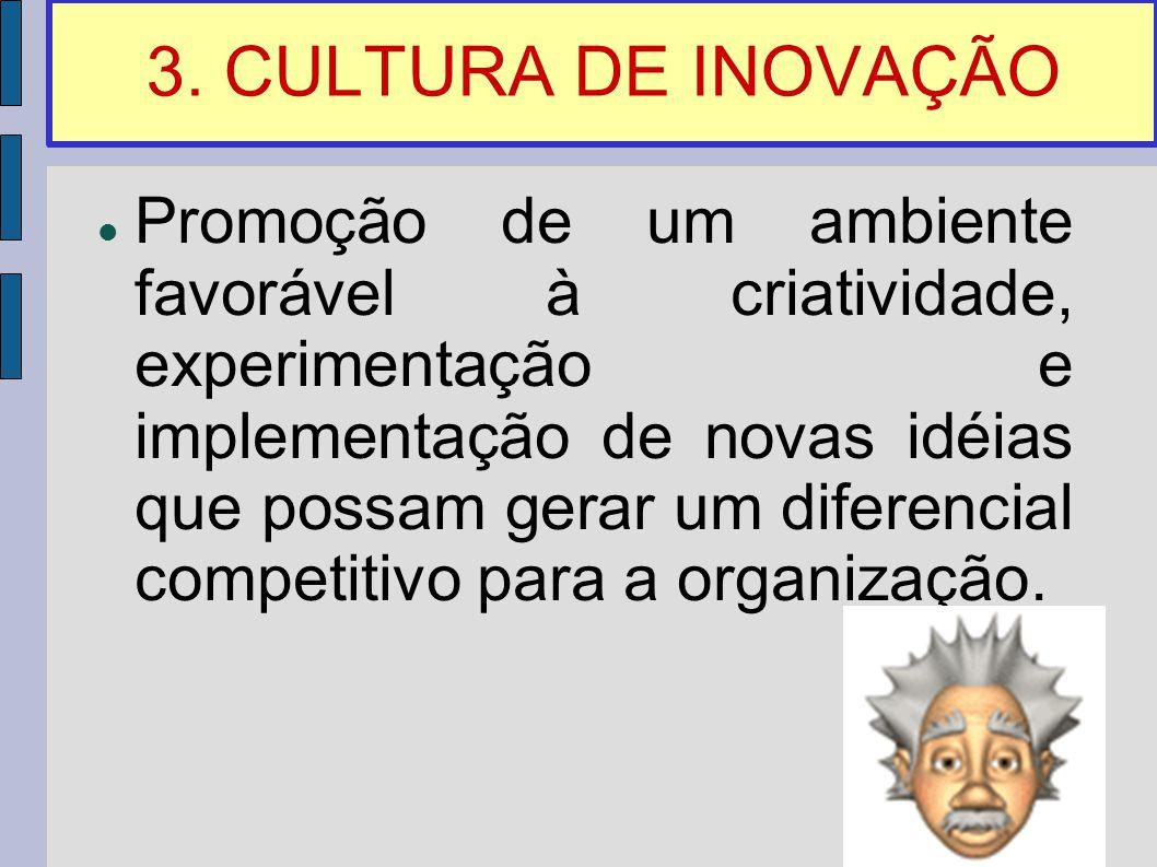 3. CULTURA DE INOVAÇÃO