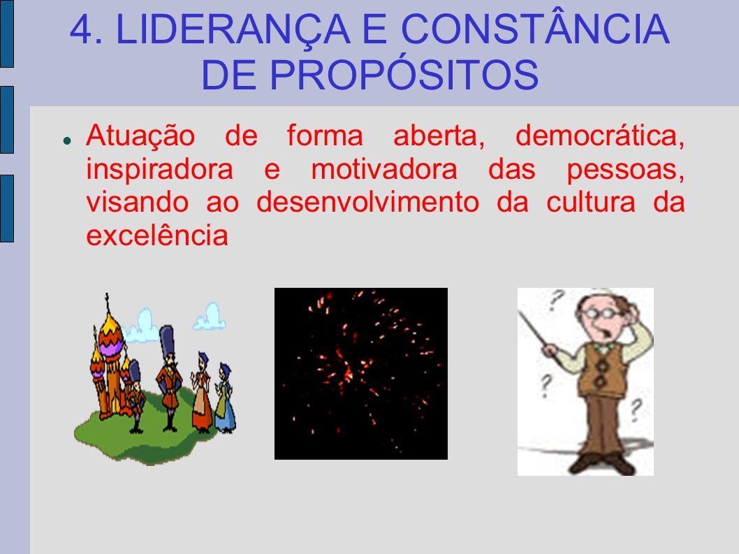4. LIDERANÇA E CONSTÂNCIA DE PROPÓSITOS
