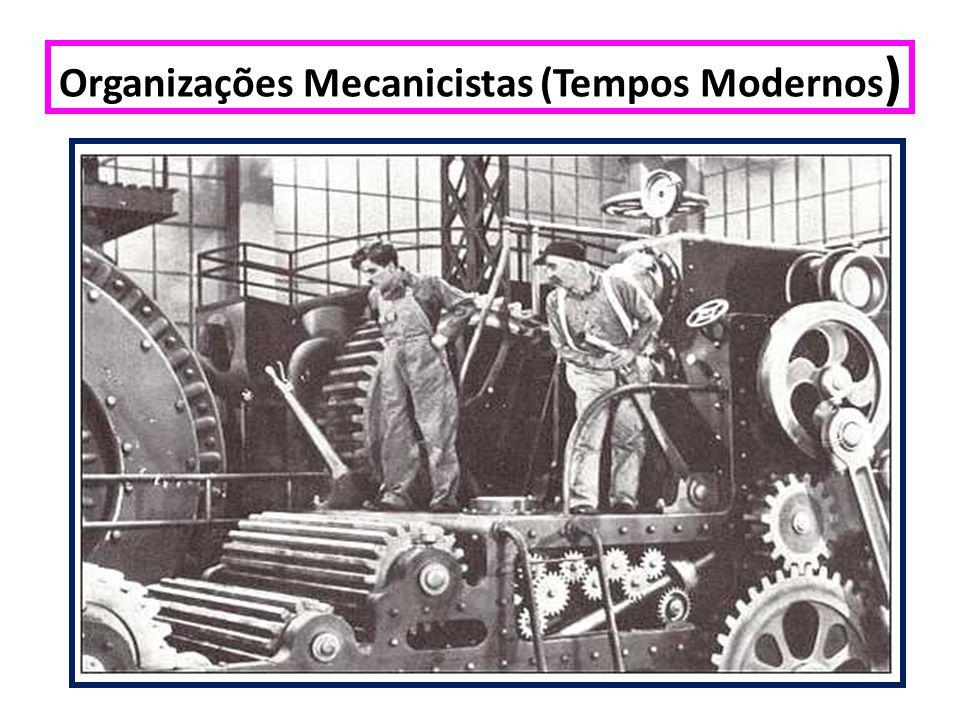 Organizações Mecanicistas (Tempos Modernos)